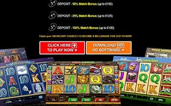 Screenshot 1 Captain Cooks Casino