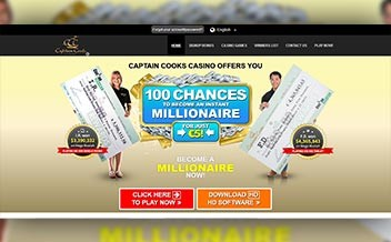 Screenshot 4 Captain Cooks Casino