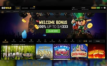 Screenshot 1 GoWild Casino