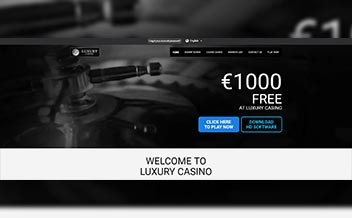 Screenshot 1 Luxury Casino