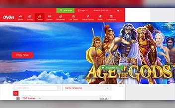 Screenshot 2 OlyBet Casino