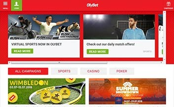 Screenshot 3 OlyBet Casino