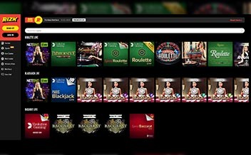 Screenshot 4 Rizk Casino