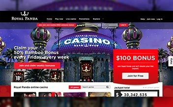 Screenshot 4 Royal Panda Casino
