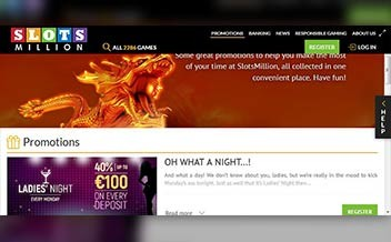 Screenshot 2 SlotsMillion Casino