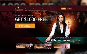 Screenshot 1 Spin Palace Casino